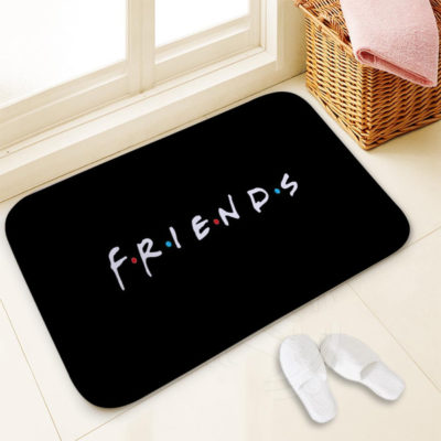"Classic ""Friends"" Funny Quotes Printed Doormats"