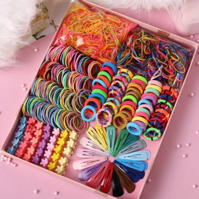 Candy Mixed Hair Rubber Bands