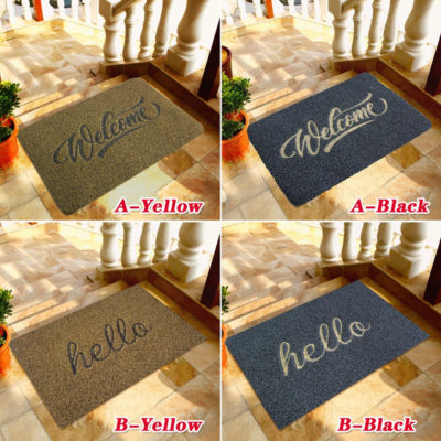 Decorative Welcome Doormat